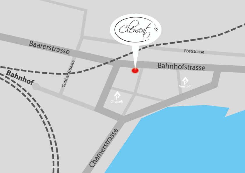 Standort | Choclatier Clement - Zug